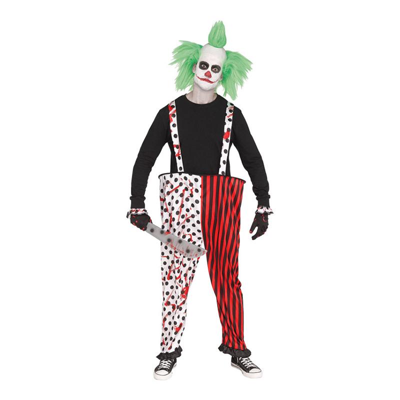 Clownbyxor Blodiga - One size
