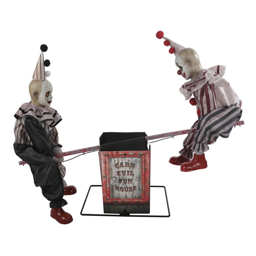 Clowner på Gungbräda Prop