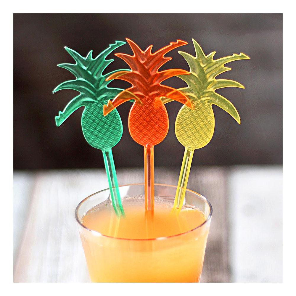 Cocktailpinnar Ananas - 24-pack
