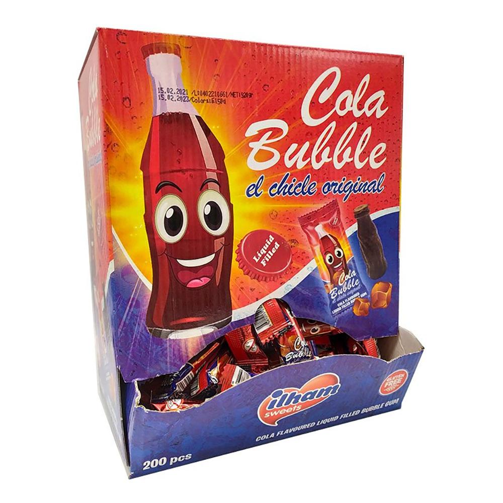 Cola Bottle Bubble Gum - 200-pack
