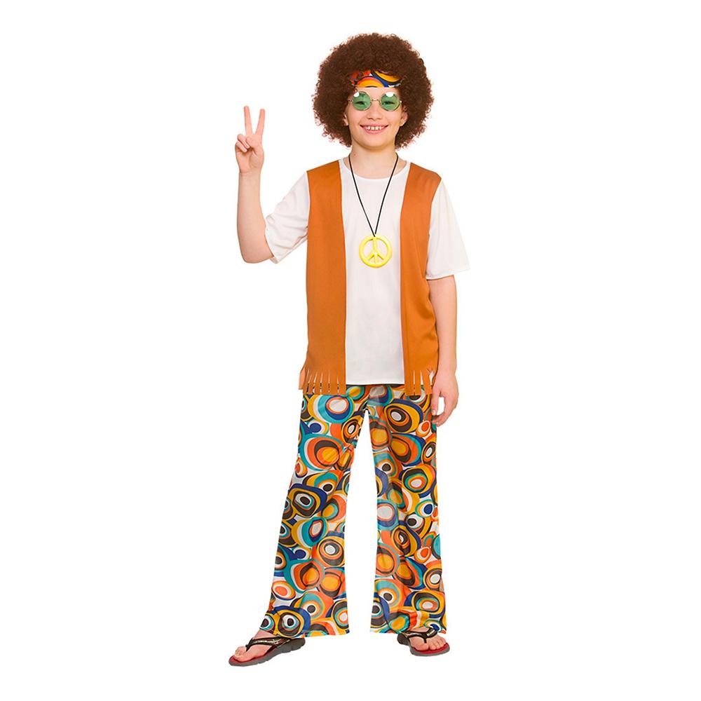 Cool Hippie Barn Maskeraddräkt - Large