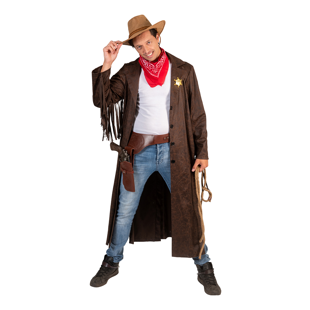 Cowboy Greg Maskeraddräkt - Medium