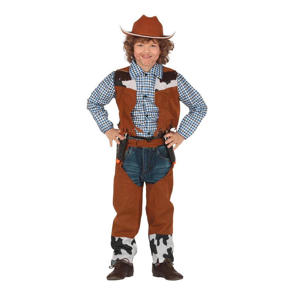 Cowboy Klassisk Barn Maskeraddräkt - X-Small
