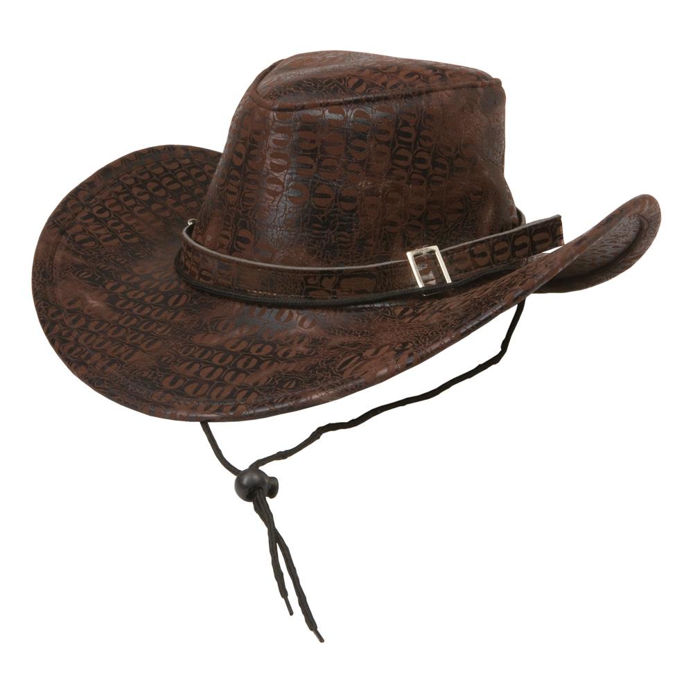 Cowboyhatt Brun - One size