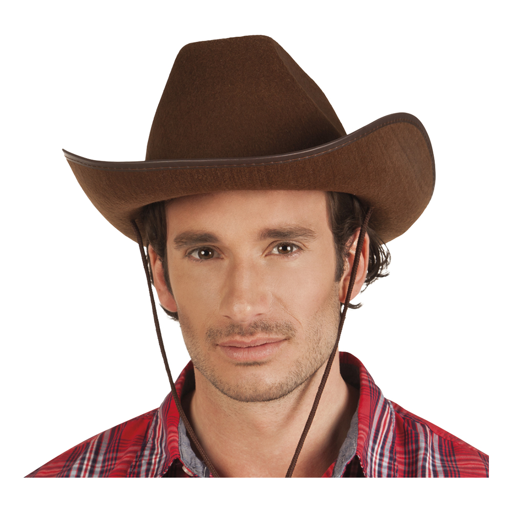 Cowboyhatt Rodeo Brun - One size