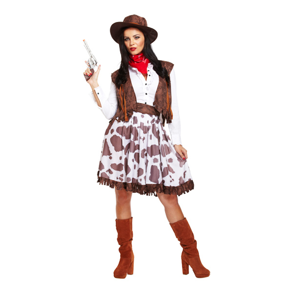Cowgirl Budget Maskeraddräkt - One size
