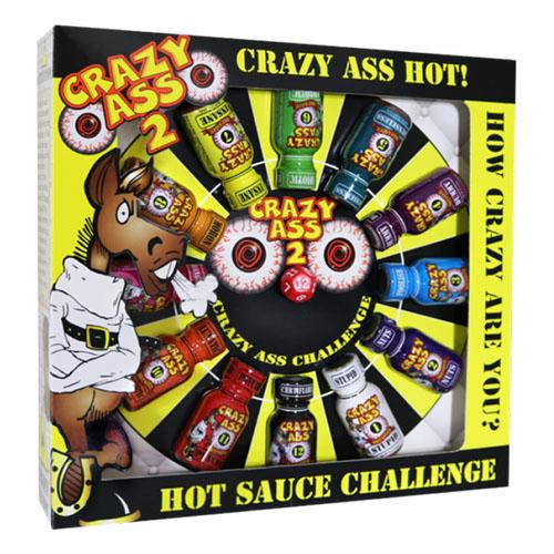 Crazy Ass Hot Sauce Challenge