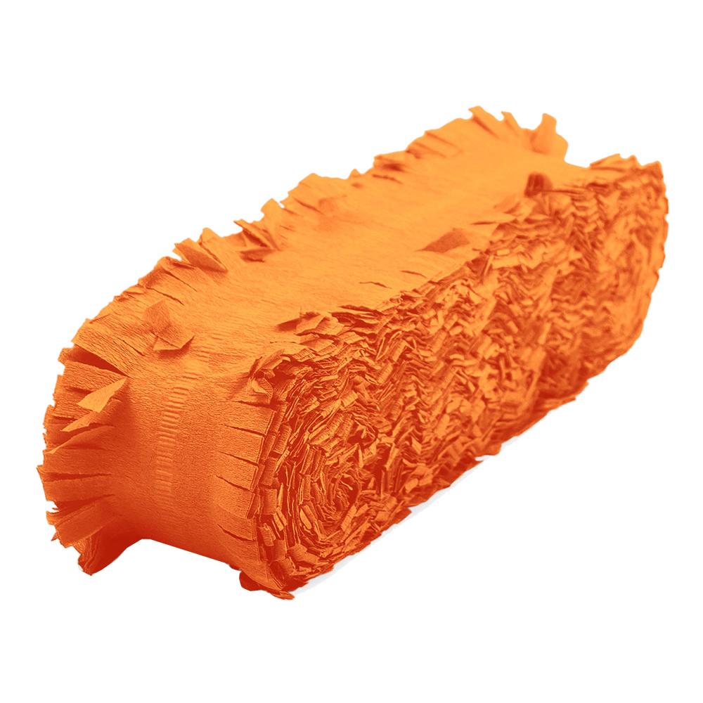 Kräppgirlang Orange
