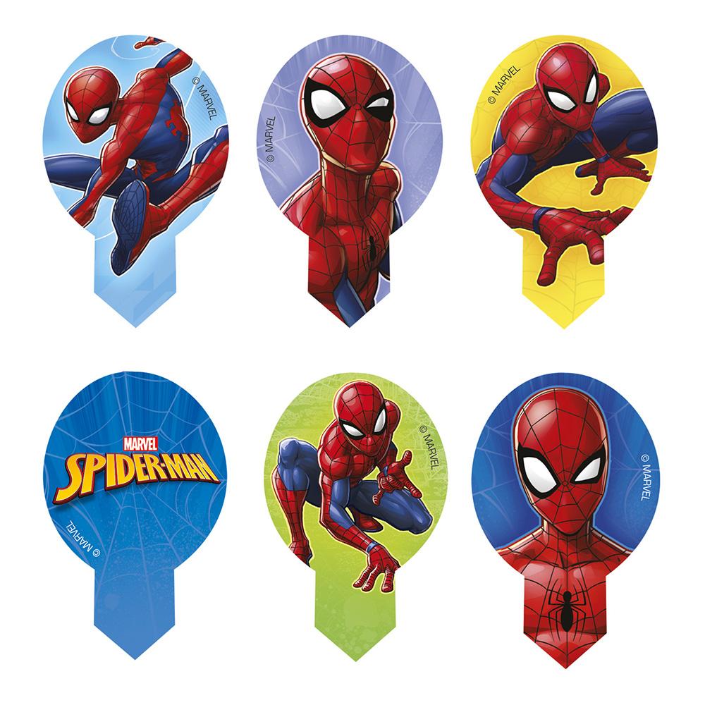 Cupcake Dekoration Spiderman
