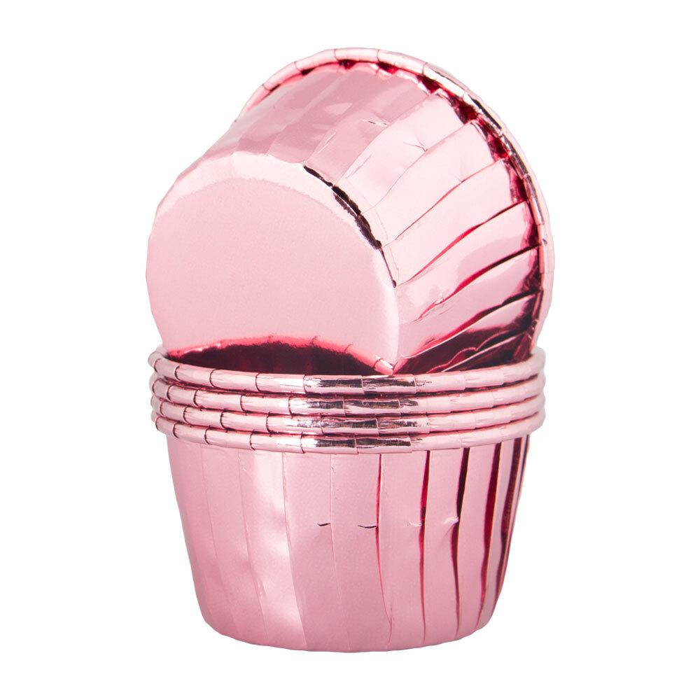 Cupcake Wrapper Roséguld Metallic - 50-pack