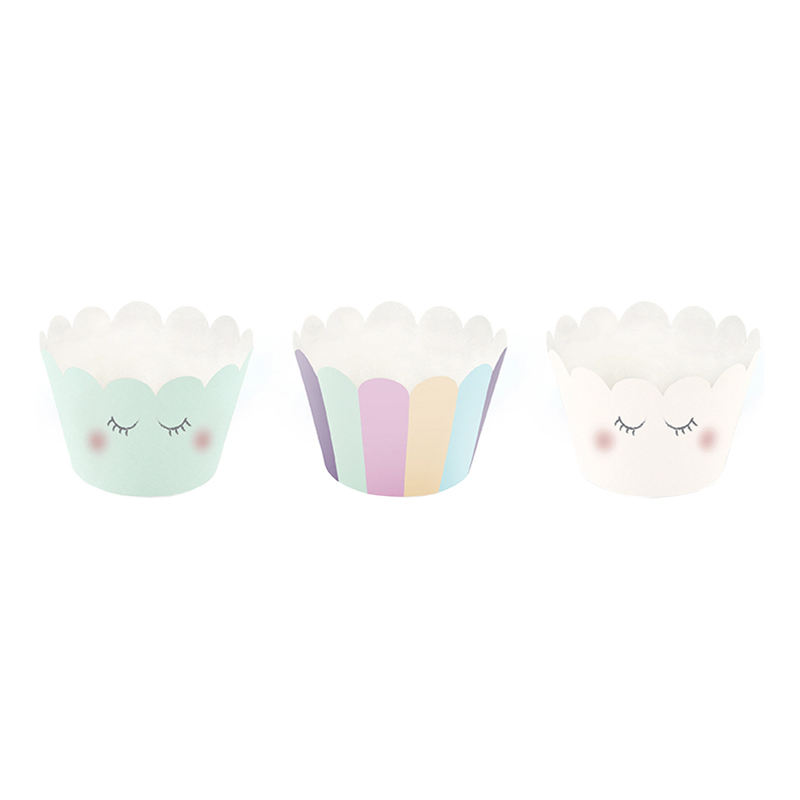 Cupcake Wrappers Unicorn - 6-pack