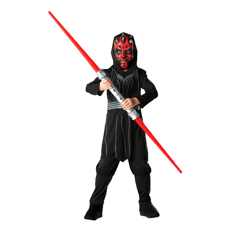 Darth Maul Barn Maskeraddräkt - Small