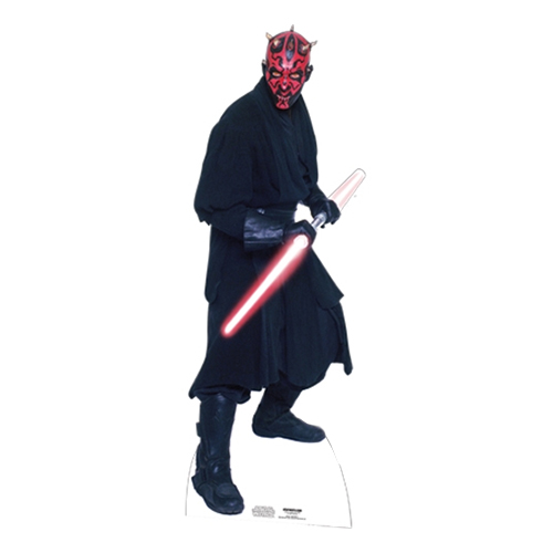 Darth Maul Kartongfigur