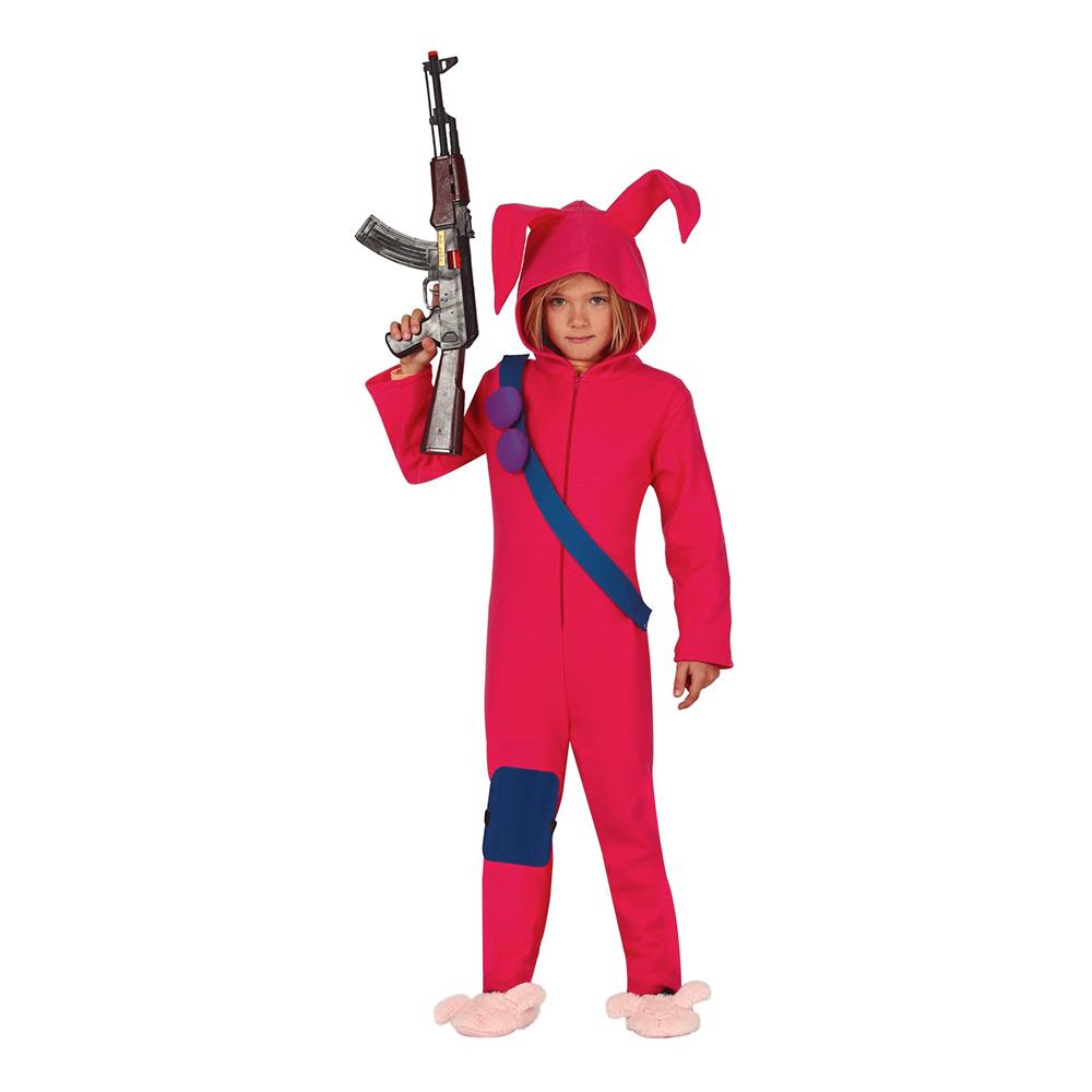 Kanindräkter - Datorspel Kanin Barn Maskeraddräkt - 7-9 år
