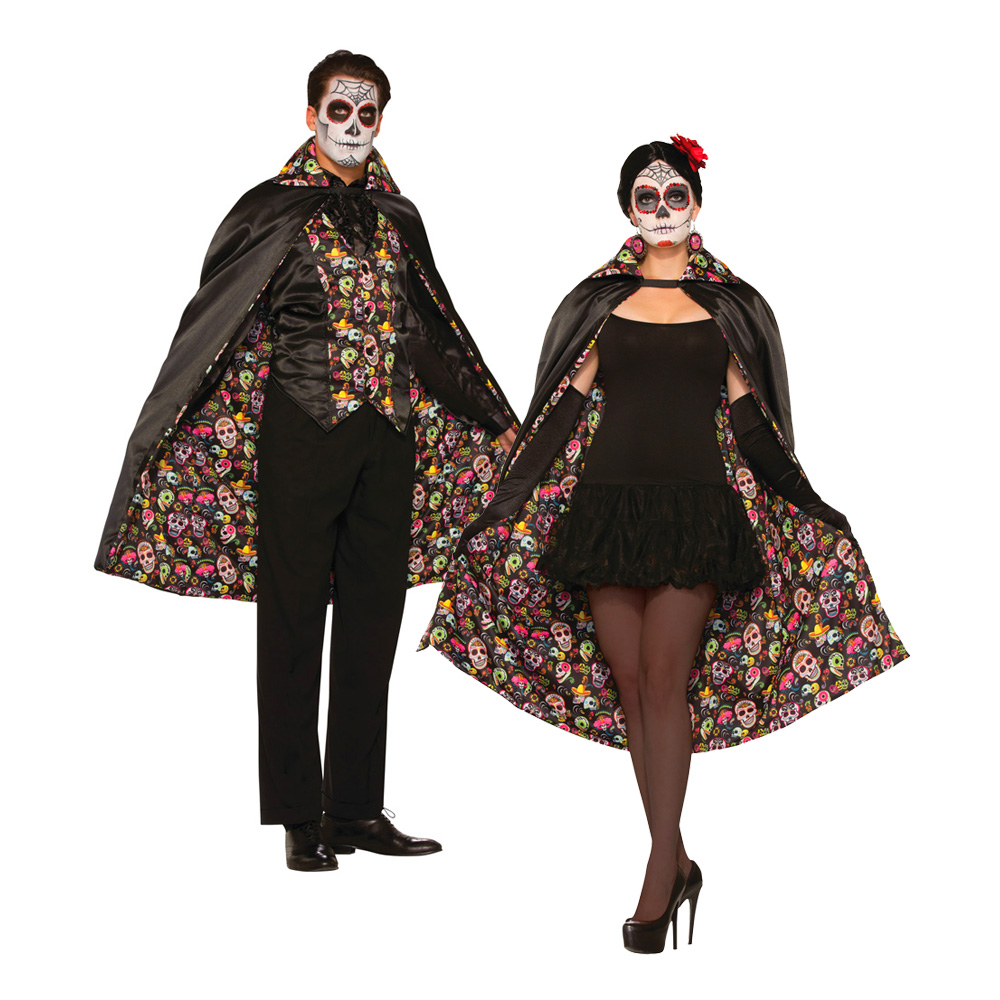 Day of the Dead Cape - One size