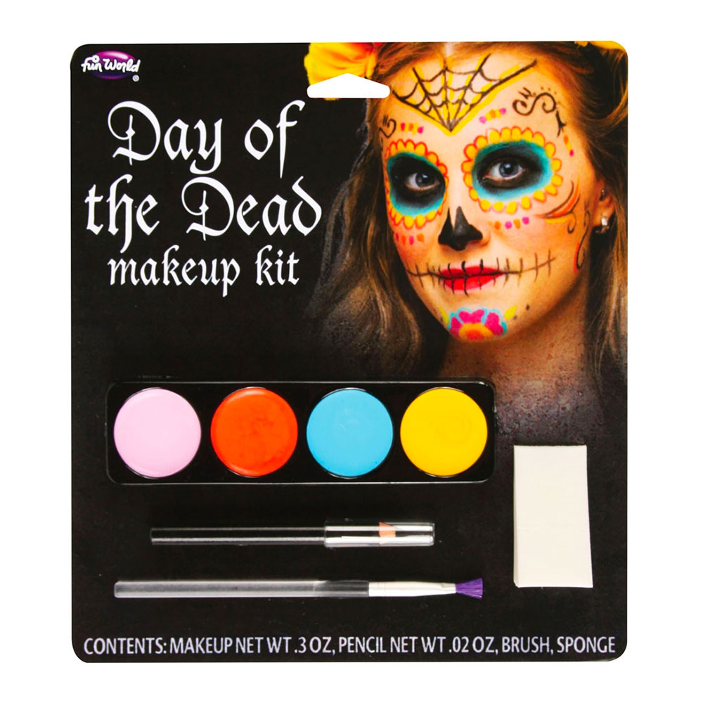 Day of the Dead Sugar Skull Sminkset