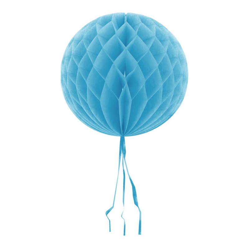 Dekorationsboll Ljusblå - 30 cm