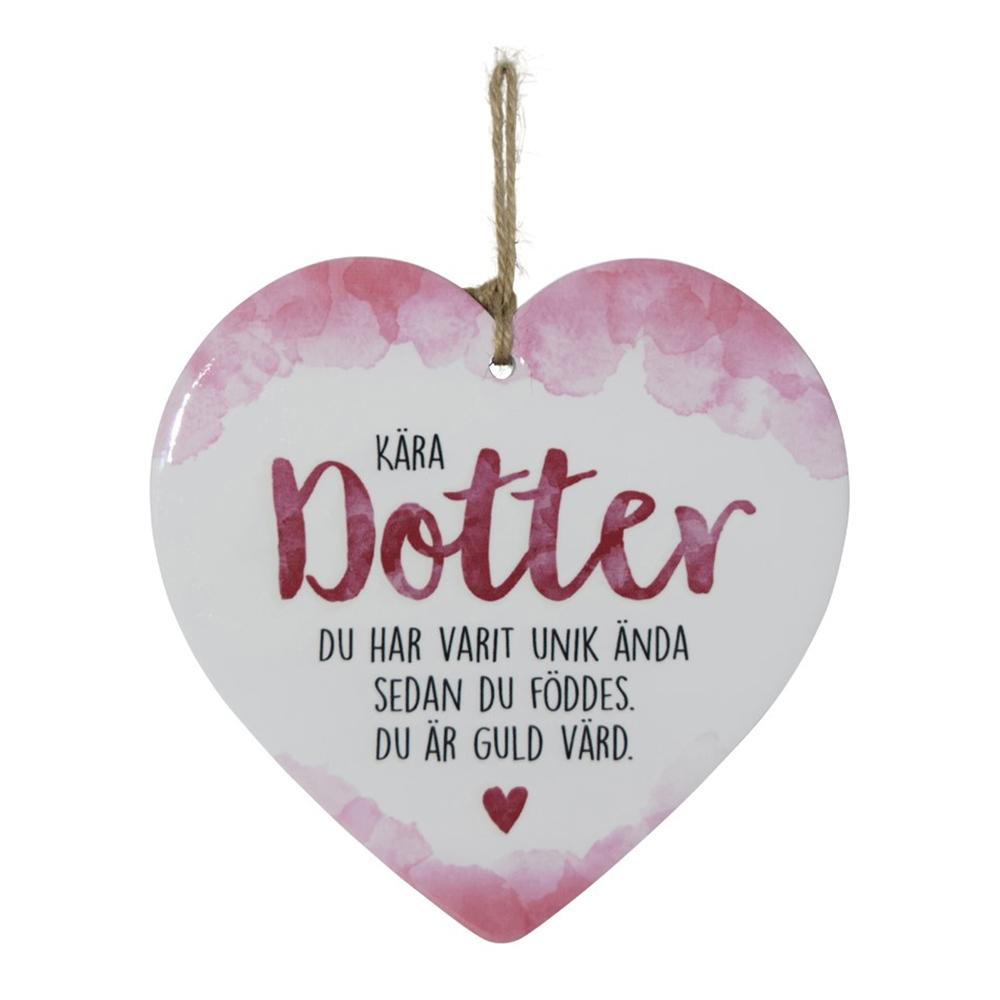 Dekorationshjärta Dotter