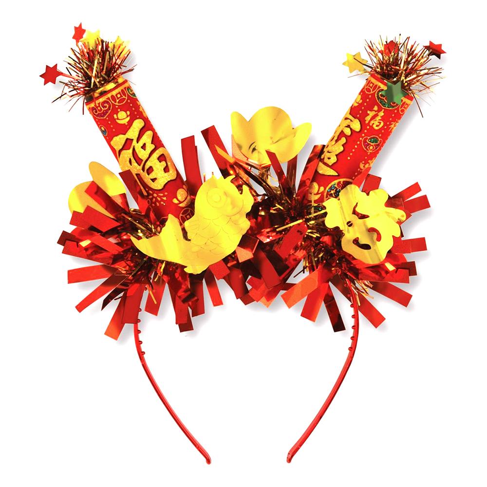 Diadem Kinesiskt Nyår - One size