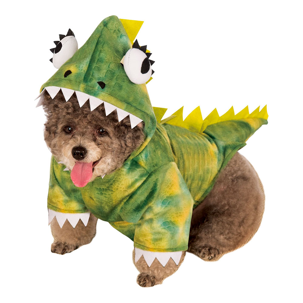 Dinosauriedräkter - Dinosaurie Hund Maskeraddräkt - X-Large
