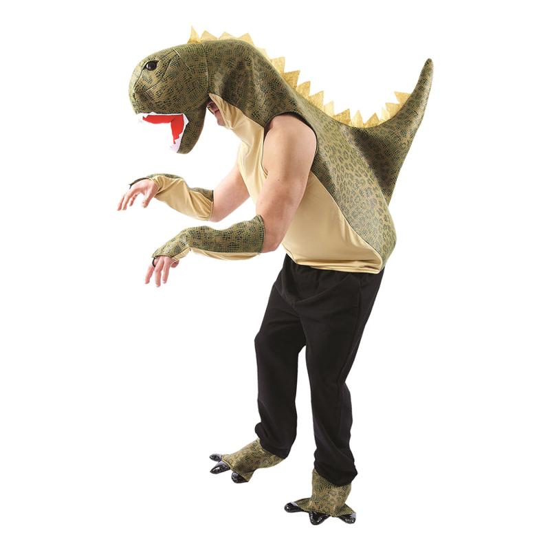 Dinosaurie Maskeraddräkt - One size