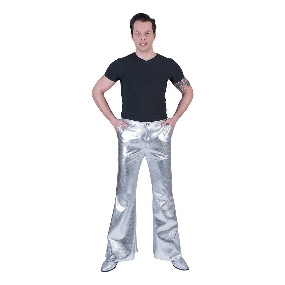Discobyxor Utsvängda Silver - Small