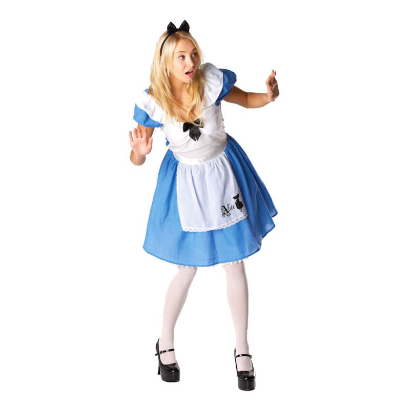 Disney Alice i Underlandet Maskeraddräkt - Small