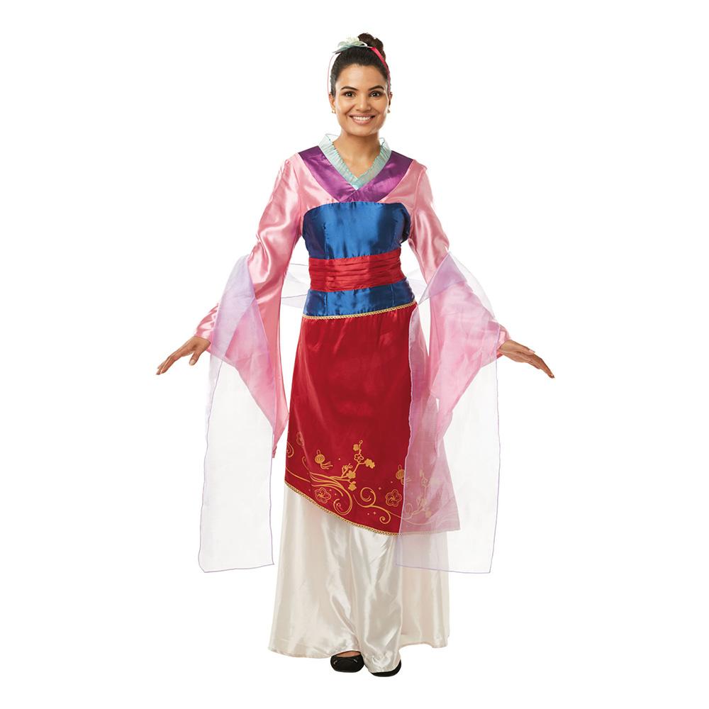 Disney Prinsessor Mulan Maskeraddräkt - Small