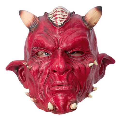 Djävulsmask med Horn - One size