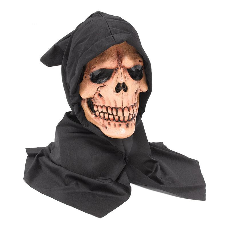 Dödskallemask med Huva - One size