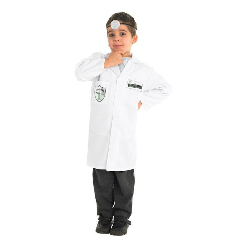 Doktor Barn Maskeraddräkt - Small