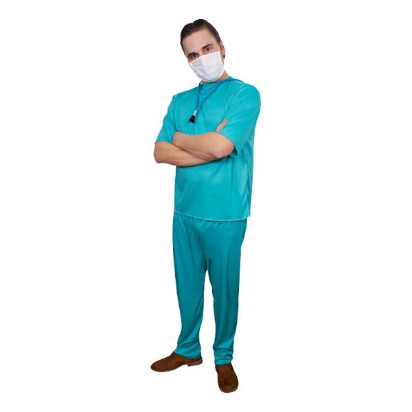 Doktor Budget Maskeraddräkt - One size