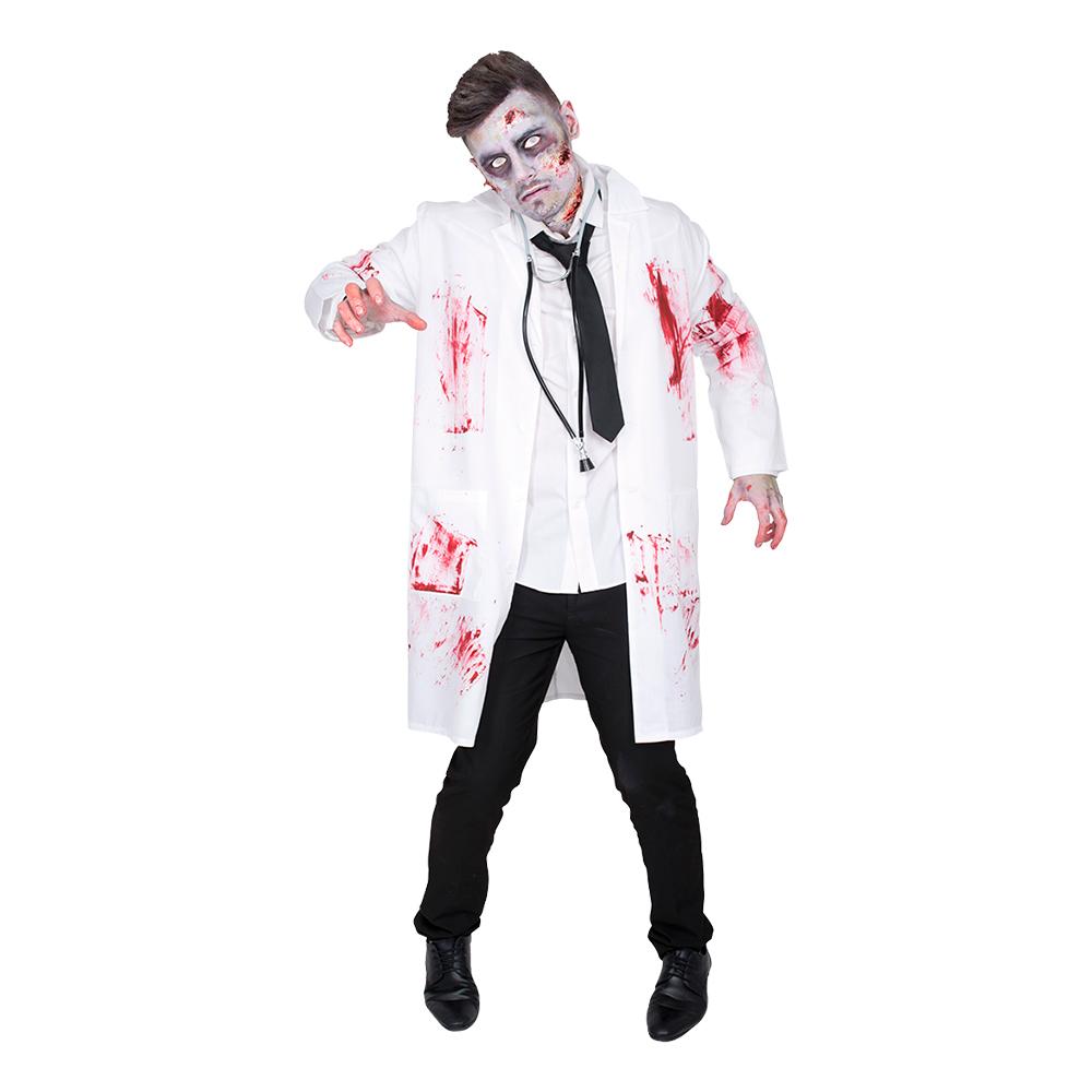 Doktor Zombie Maskeraddräkt - One size