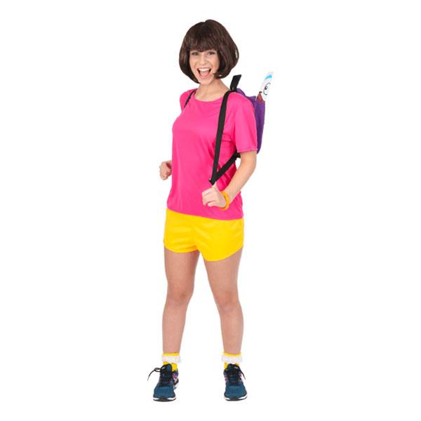 Dora Utforskaren Maskeraddräkt - Small