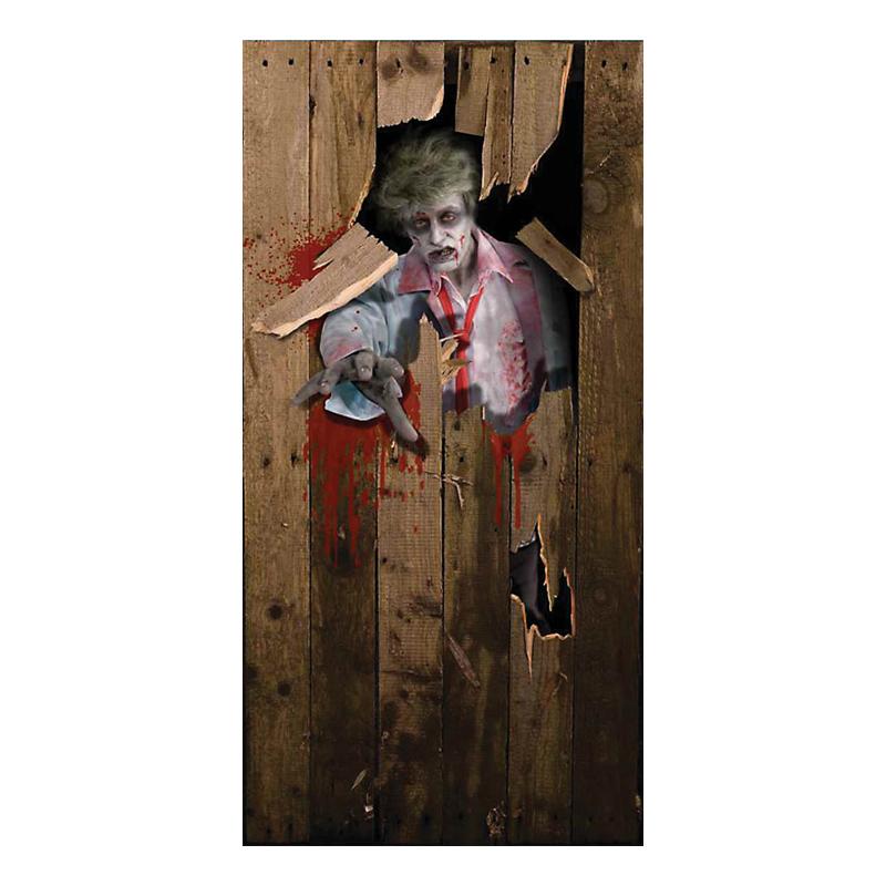 Dörrposter Zombie
