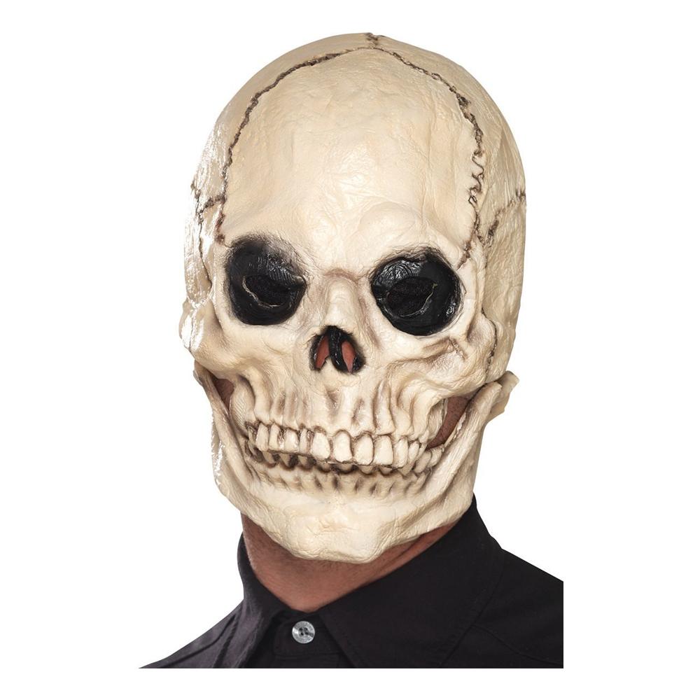 Döskalle Mask med Rörlig Käke - One size