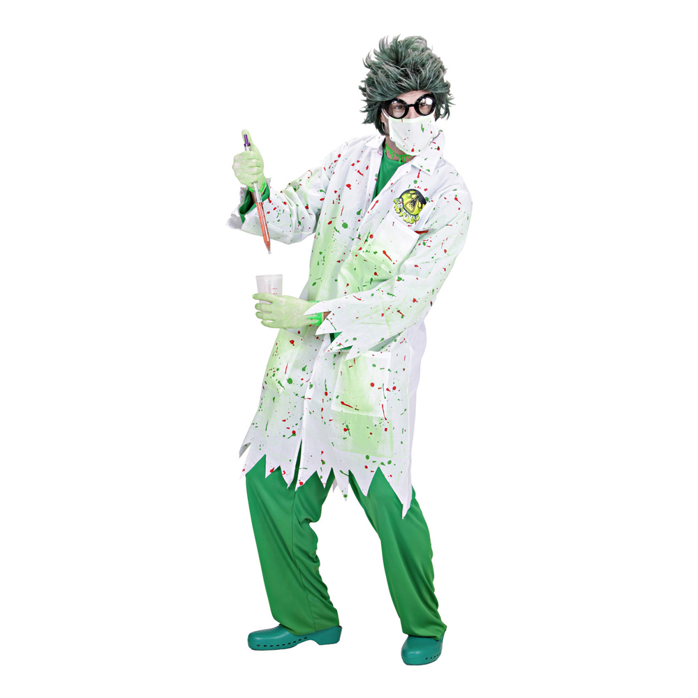 Dr Toxic Maskeraddräkt - Small