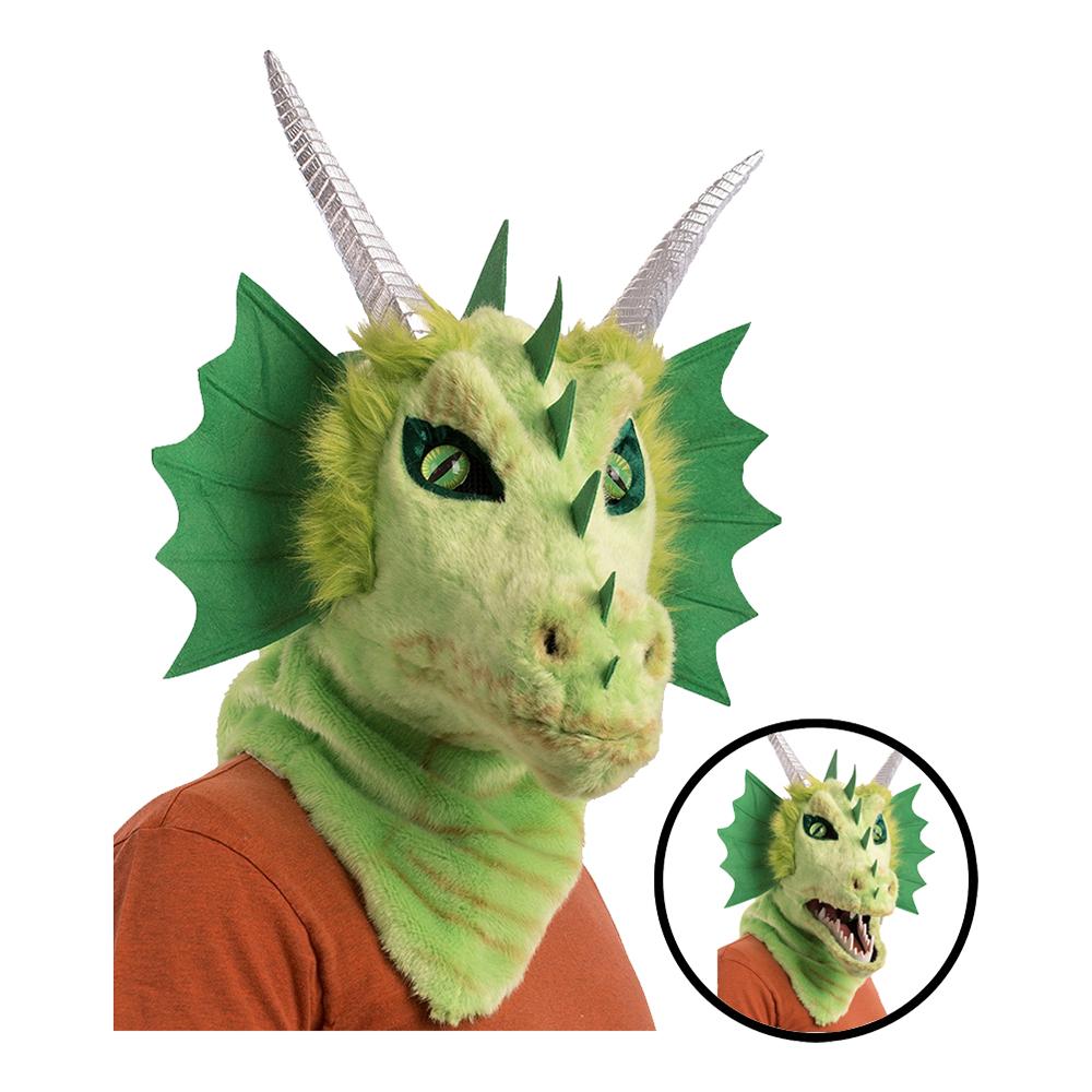 Drake Mask med Rörlig Mun - One size