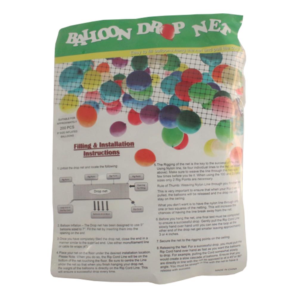 Drop Net för Ballonger - Large