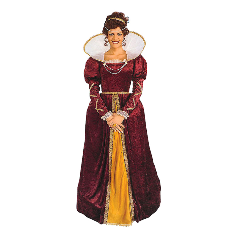 Drottning Elizabeth Maskeraddräkt - One size