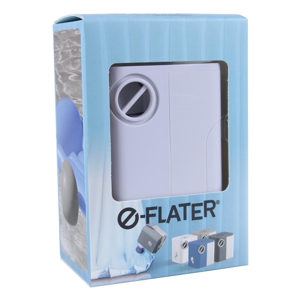 E-Flater Batteridriven Luftpump - Vit