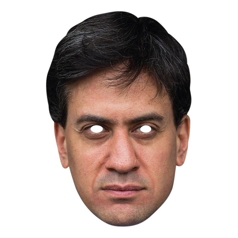Ed Miliband Pappmask