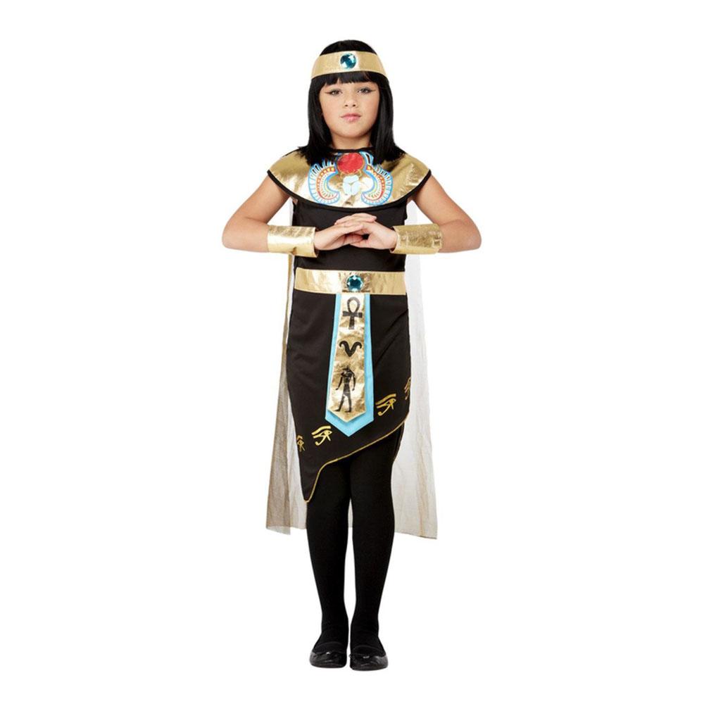 Egyptian Princess Barn Maskeraddräkt - Small