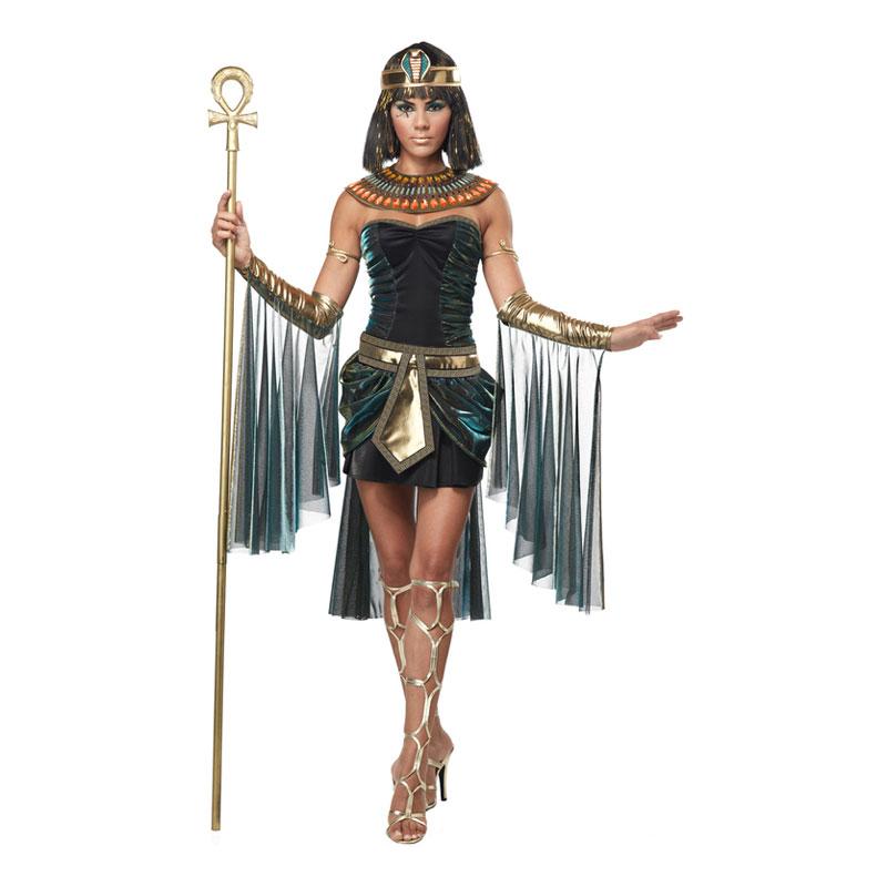 Egyptisk Gudinna Maskeraddräkt - Small