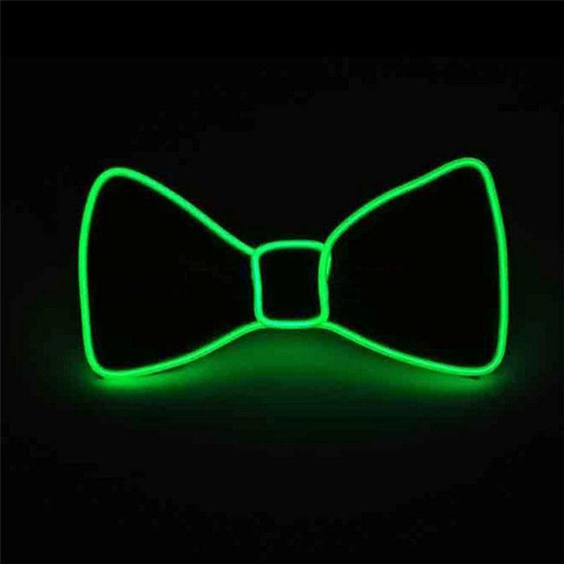El Wire LED Fluga - Grön