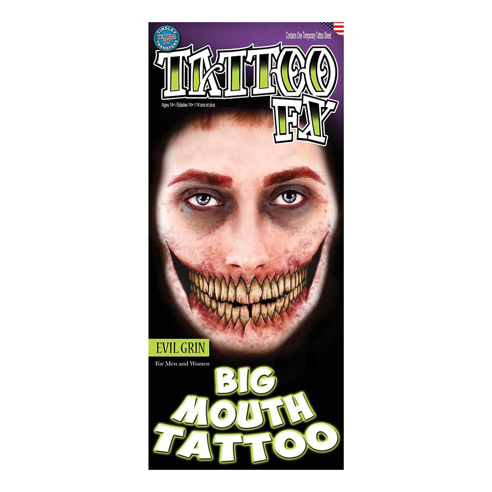 Elakt Flin Tatuering FX - 2-pack