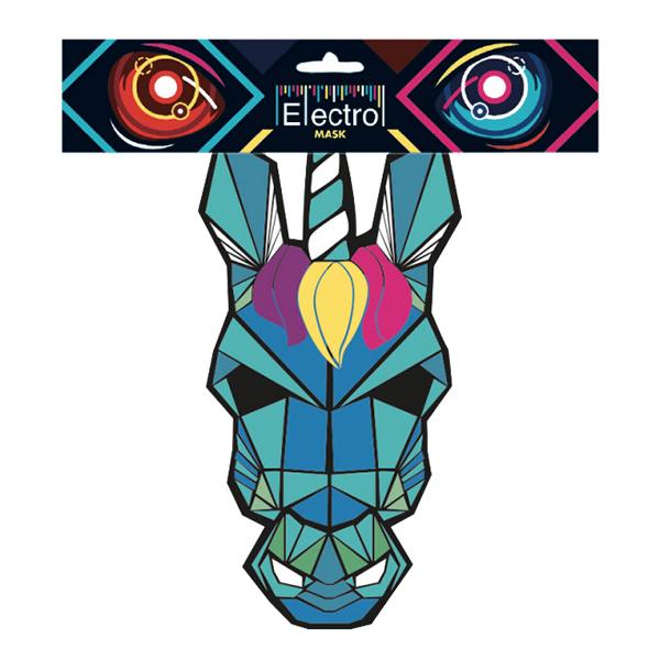 Elektronisk Mask Enhörning - One size