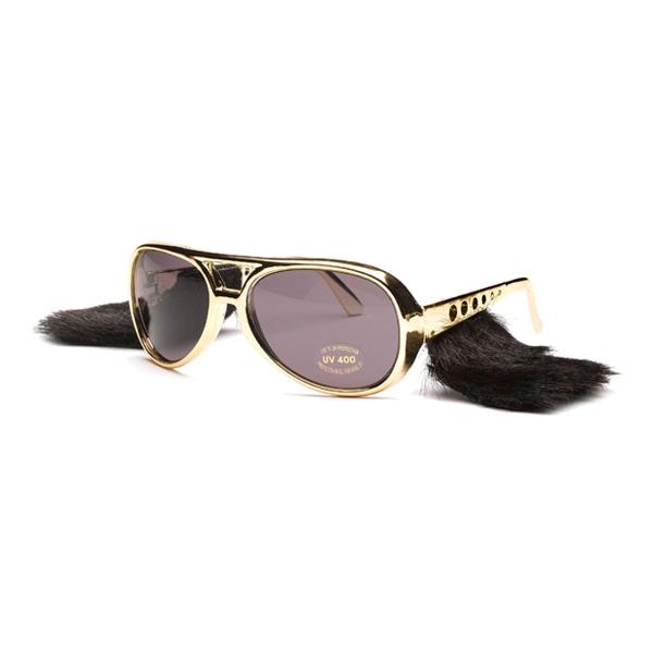 Elvisglasögon med Polisonger