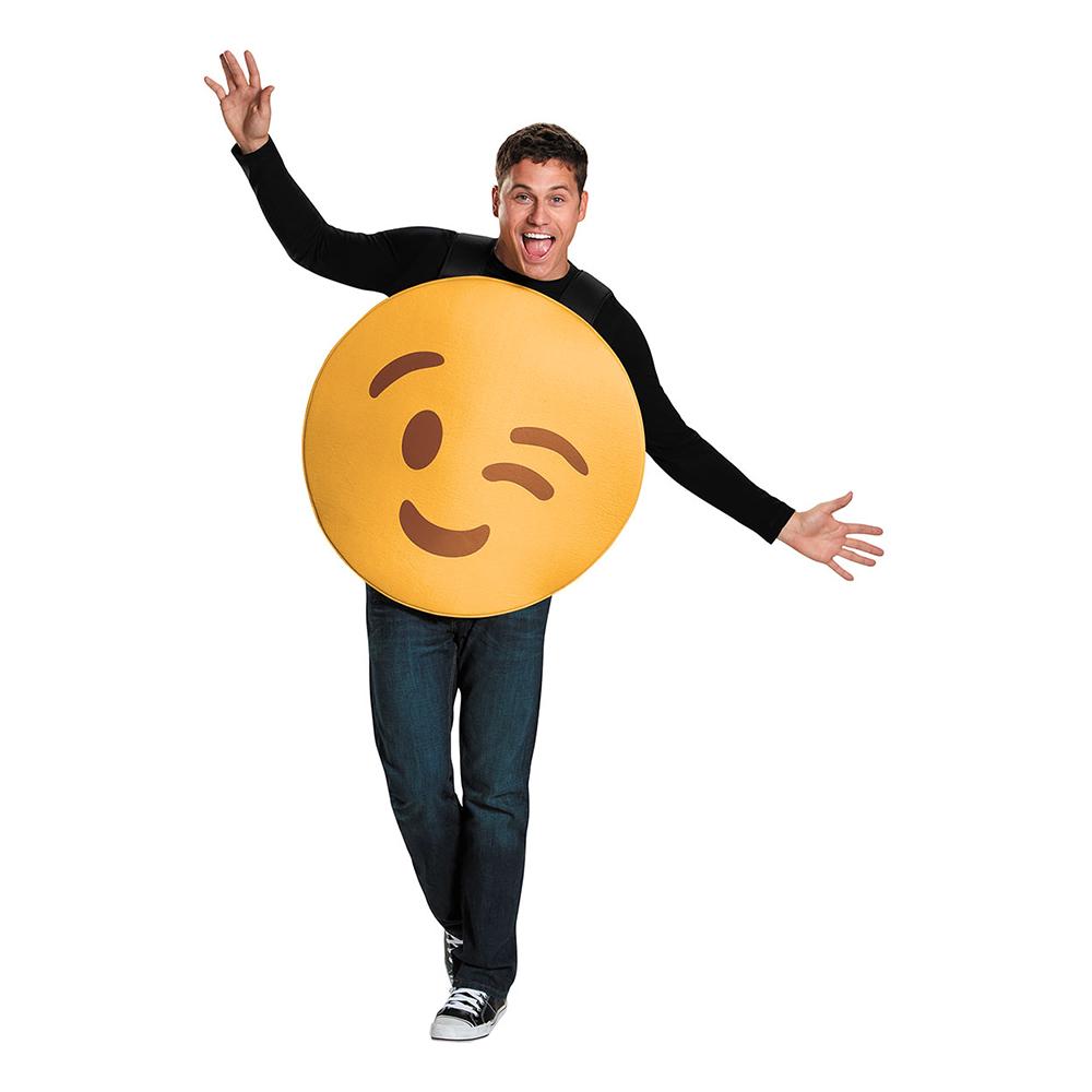 Emoji Wink Maskeraddräkt - Medium   Hem//Maskerad//Maskeraddräkter//Damdräkter   Partyoutlet