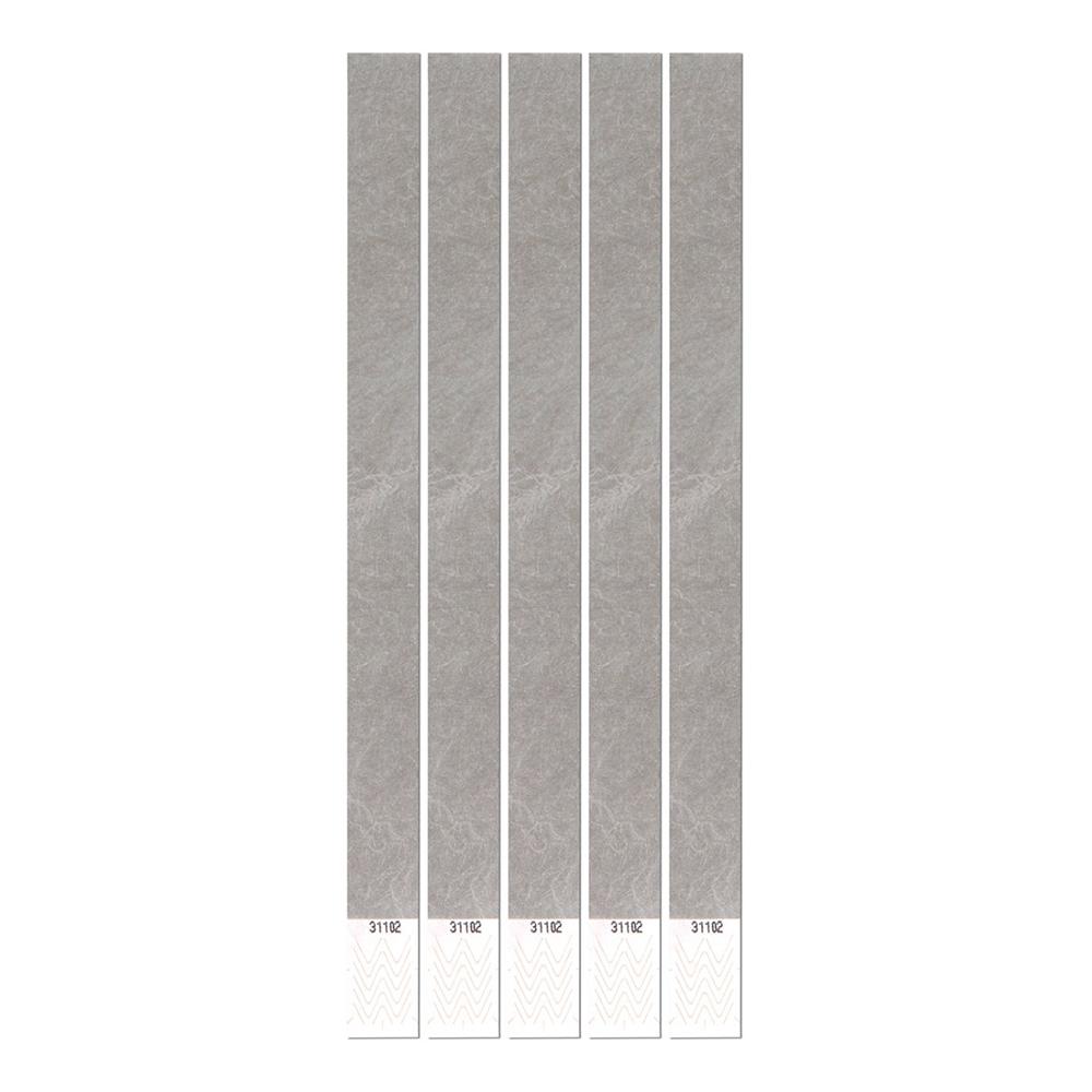 Entréarmband Grå - 100-pack